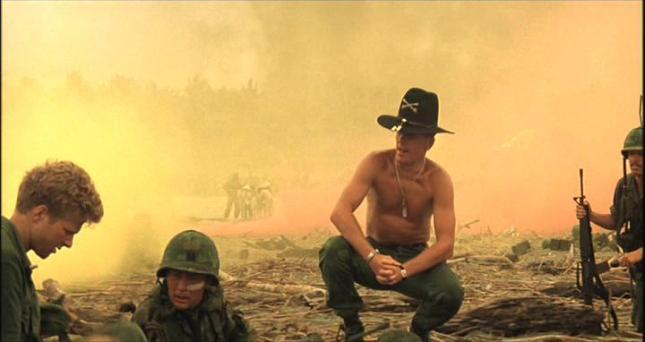 """I love the smell of napalm in the morning."""